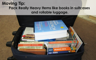 Packing books – Tip!