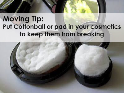 Protect your cosmetics!