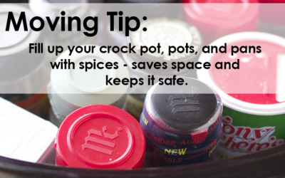 Packing your spices – Tip!